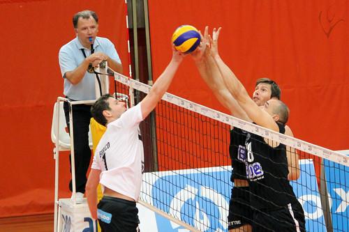 Voleibol: Vitória SC 0-3 Fonte Bastardo