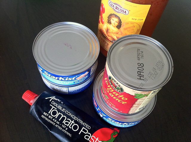 Canned Pantry Items