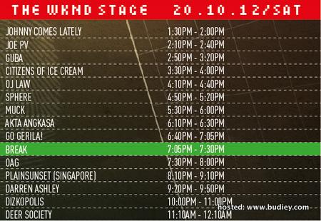 Rockaway Festival 2012