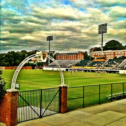 UNCG Soccer Stadium by Greensboro NC