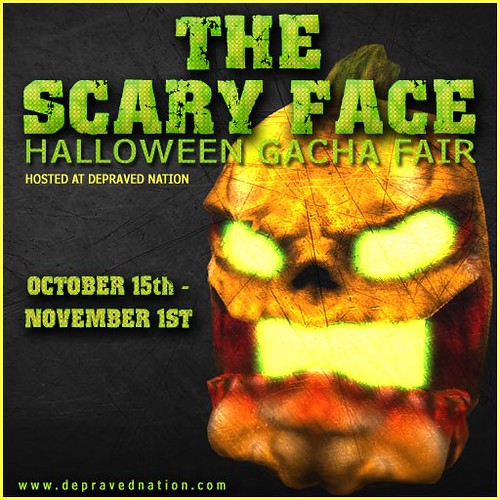 THE SCARY FACE GACHA FAIR!