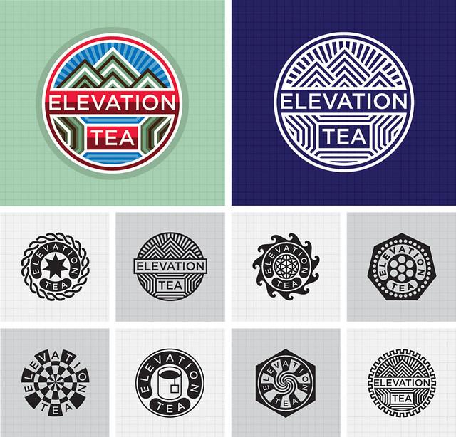 Logo Design : Elevation Tea.