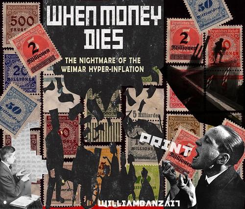 WHEN MONEY DIES by Colonel Flick