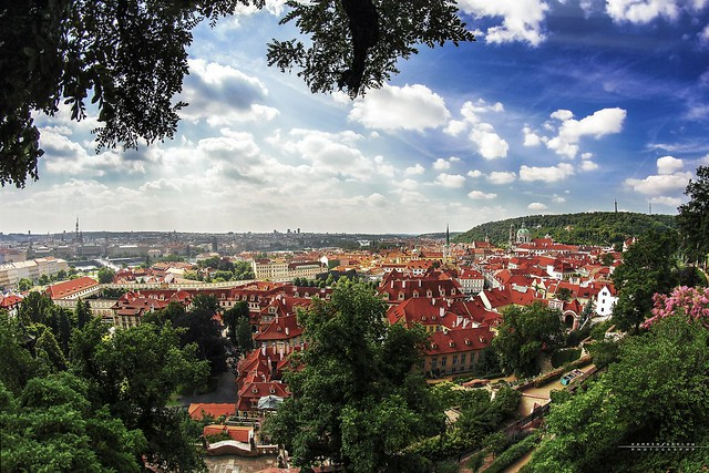 Orange Roofed Prague - Flickr CC kamgtr