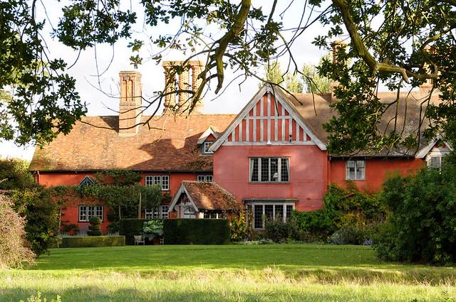 pink suffolk house