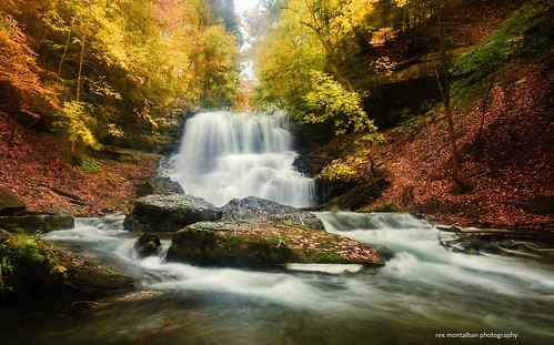 autumn fall waterfalls hdr decew nikond7000 rexmontalbanphotography