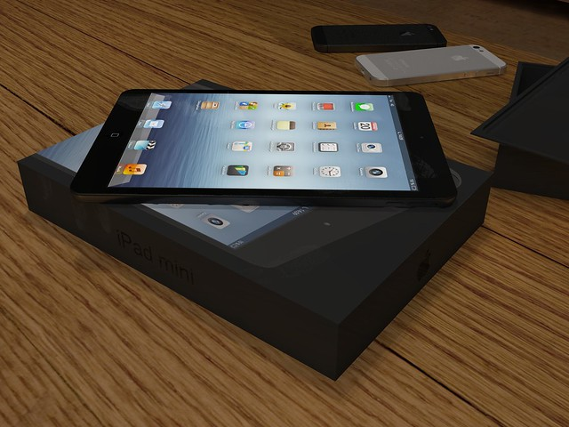 iPad mini black unboxing 03