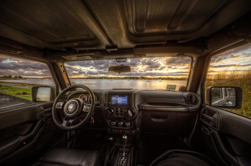 ri sunset bristol jeep interior altitude newengland rhodeisland chrysler unlimited hdr wrangler 4door tonemapped itsajeepthing trigphotography frankcgrace