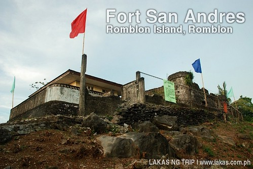 Fort San Andres at Romblon Island, Romblon