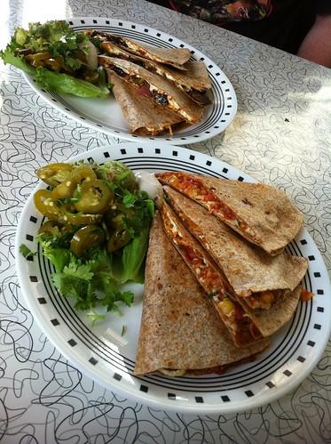 Quesadillas - Spiral Diner