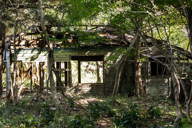 Abandoned Building on Maya Mount