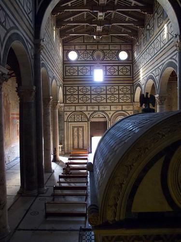 Interior San Miniato al Monte, Firenze