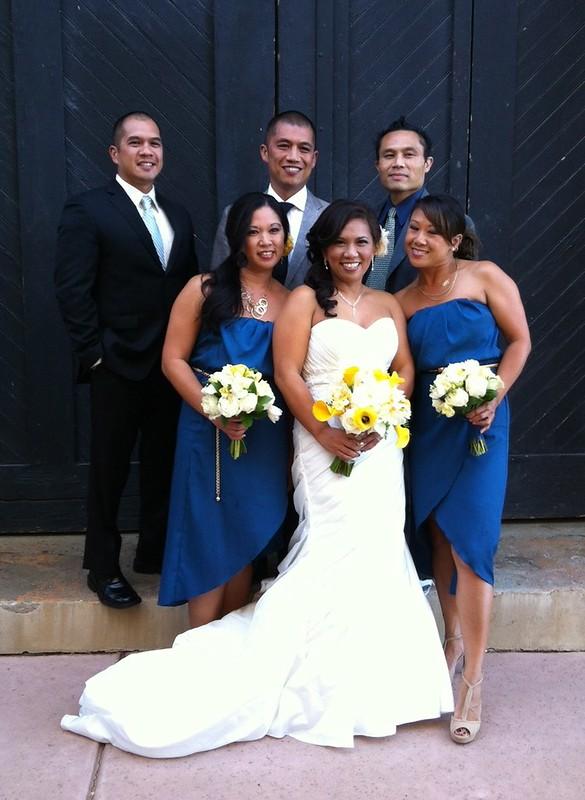 Cousins at Reena's wedding