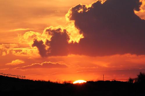 autumn light sky españa luz sol spain colores amarillo cielo ocaso trujillo extremadura migueltovar2012