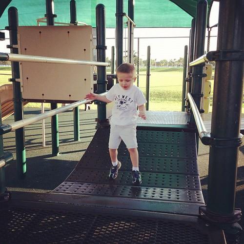 Favorite bouncy bridge!