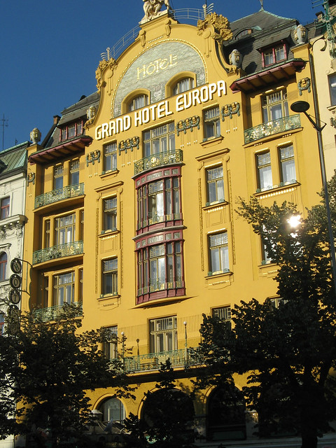 Prague coffee houses a gallery on flickr for Hotel europa prague