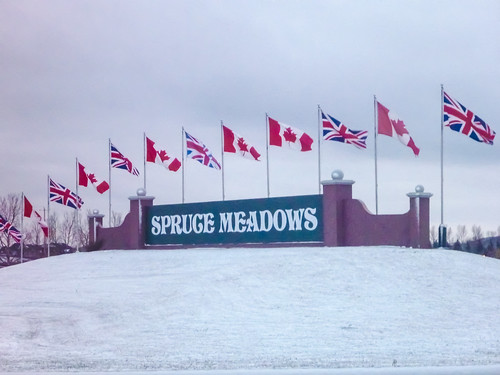 Spruce Meadows at 1700km