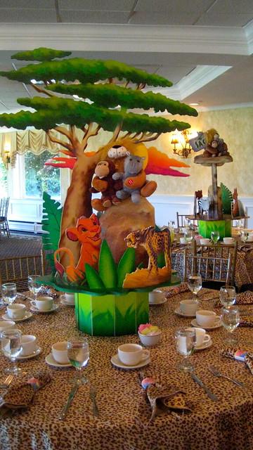 Lion King First Birthday Centerpiece Flickr Photo Sharing