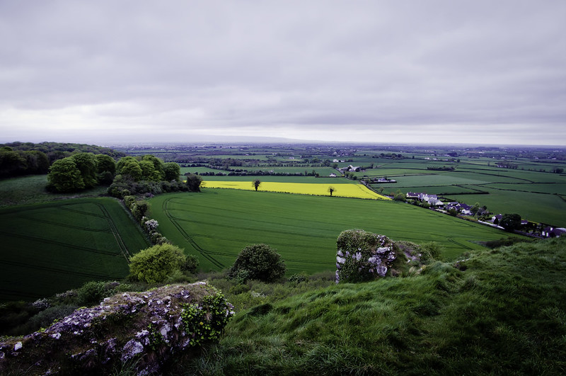 View from Rock of Dunamase