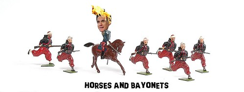 HORSES AND BAYONETS by Colonel Flick