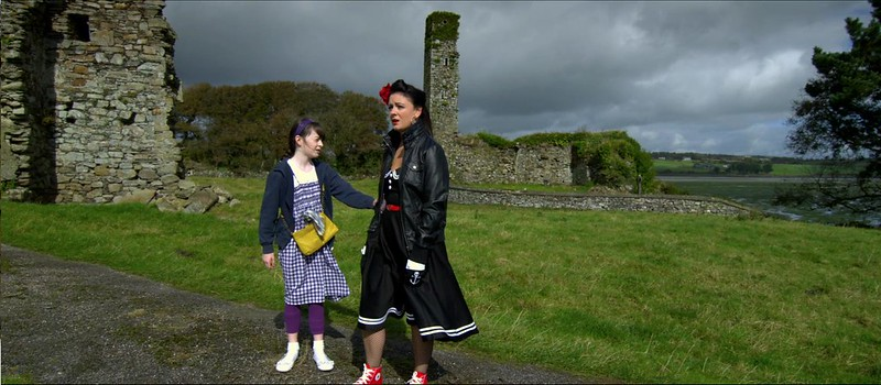 3. Lorraine & Hailey in Ruins, Courtmacsherry