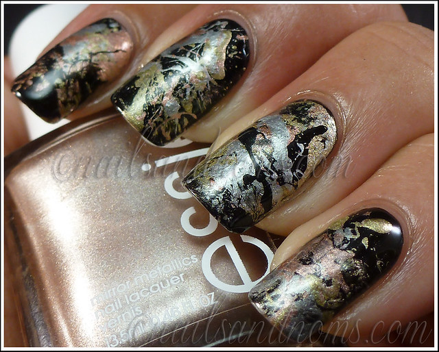 31DC2012 Day 8 Metallic Nails