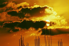 [フリー画像素材] 自然風景, 空, 雲, 朝焼け・夕焼け ID:201210292000