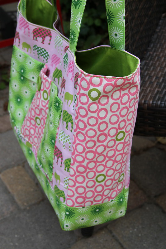 Market Square Tote made by Michelle at CityHouseStudio