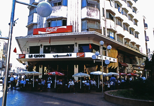2001-La-Chope-in-Casablanca-Morroco-Coca-Cola by roitberg