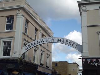 Greenwich Market - Greenwich Church Street, Greenwich - sign