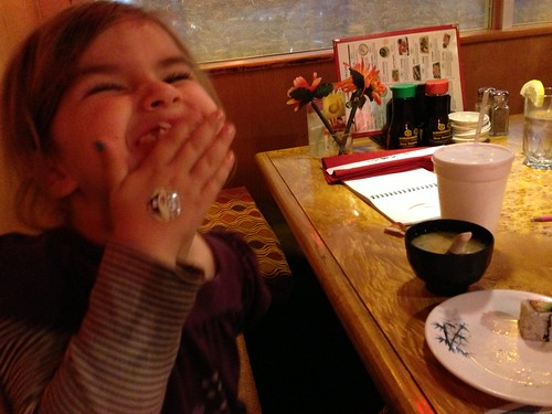 Celebrating with Sushi