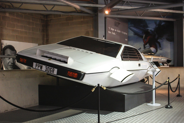 "Lotus Esprit, known as ""Wet Nellie"" for its amphibious capabilities, used in The Spy Who Loved Me. Credit: Ken Chmielewski, all rights reserved"