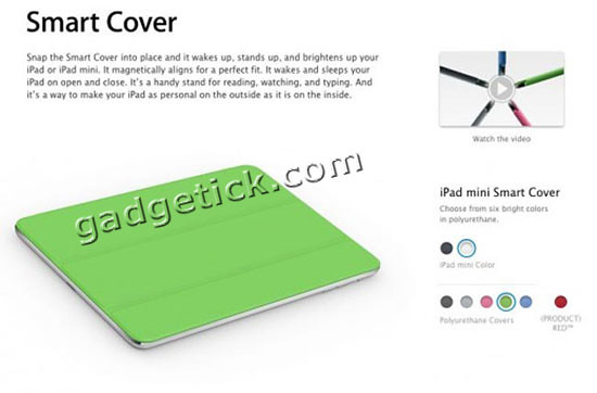 iPad mini Smart Cover купить