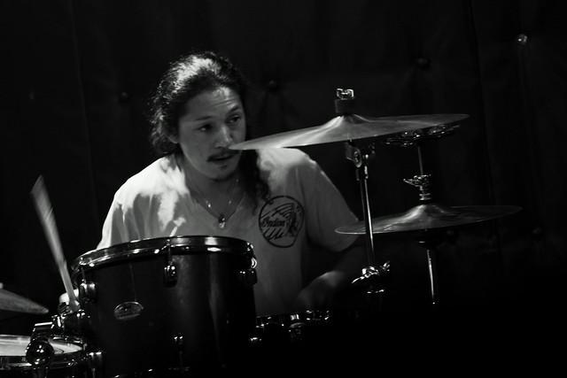 O.E. Gallagher live at Shimbashi ZZ, Tokyo, 21 Oct 2012. 132