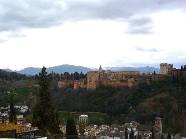 San Nicholas Granada Andalusien