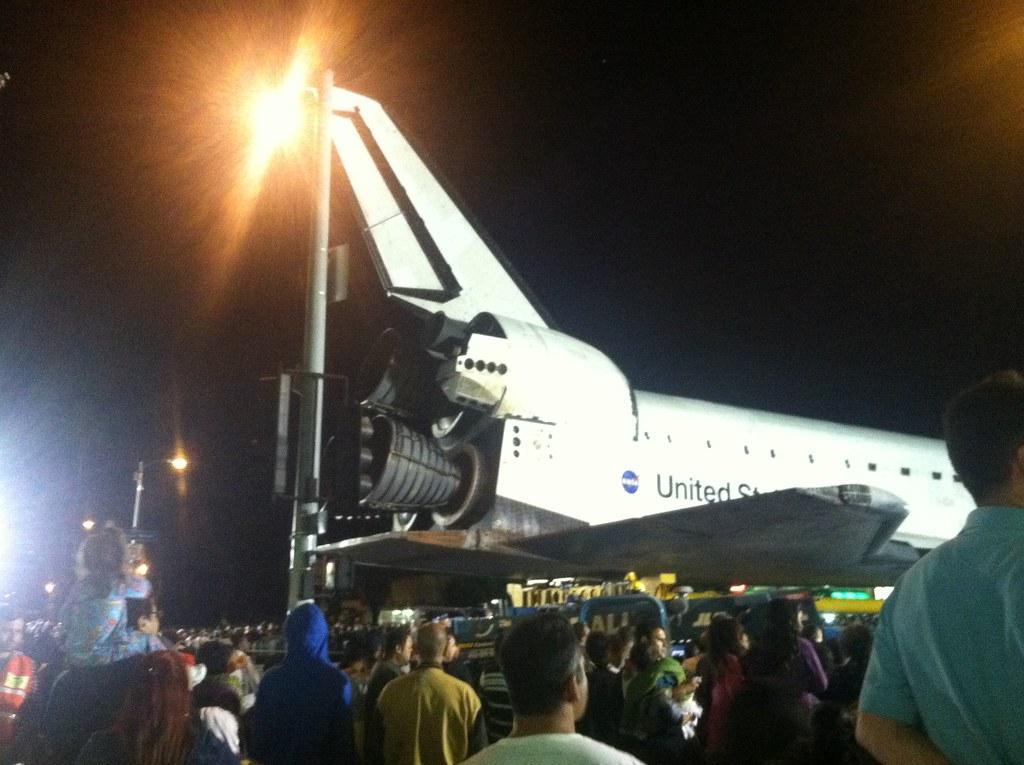Space Shuttle Endeavor - Right Back Side