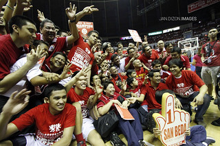 NCAA Season 88 Finals Game 3: San Beda Red Lions vs. Letran Knights, Oct 26