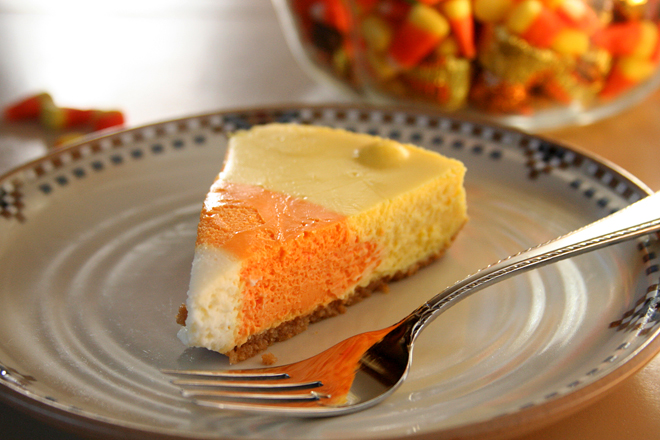 candy corn cheesecake 9