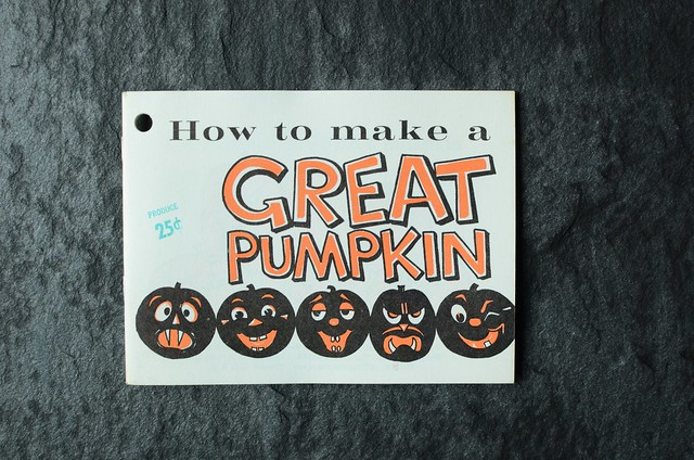How to Make a Great Pumpkin