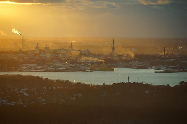 Steaming Skyline of Tallinn