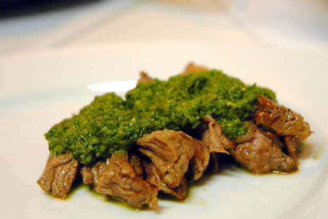 Grilled Skirt Steak with Roasted Jalapeno Chimichurri – Crazy Jamie