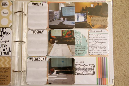 Project Life: Week 14 insert