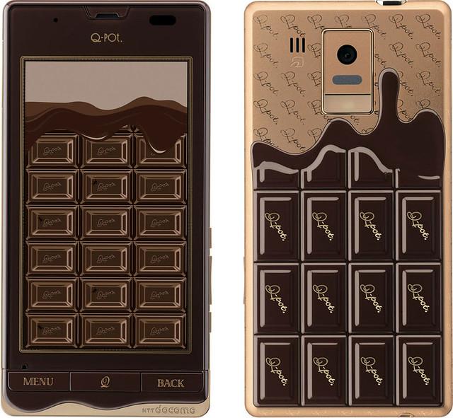 Q-pot. Phone SH-04D 実物大の製品画像