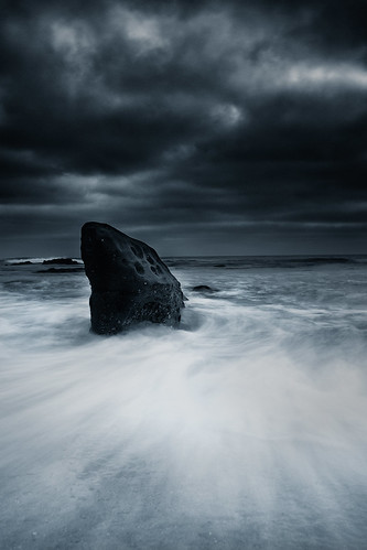 Storm at Shark Rock