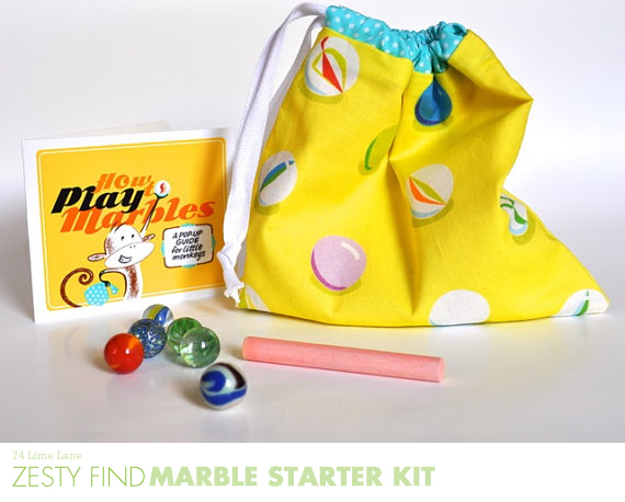 {zesty find} marble starter kit