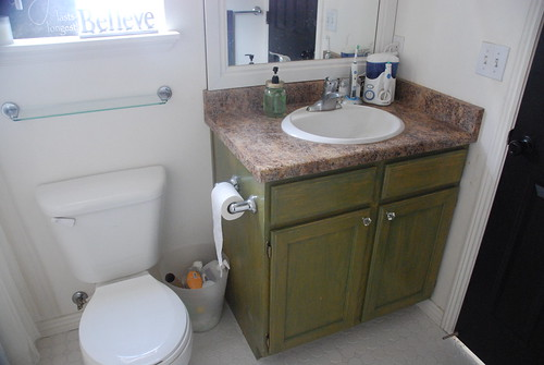 House Of Paint Master Bathroom Makeover