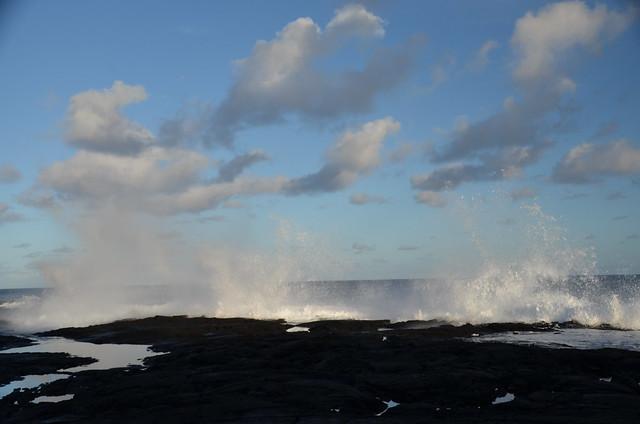 Waves at Puna coast (DSC_4169)