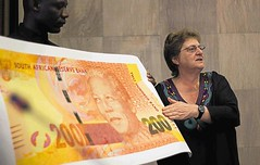 Mandela banknote launch