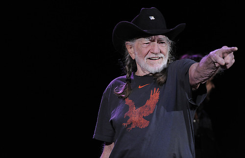 Willie Nelson Red Rocks