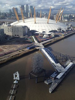 O2 Arena from Emirates Airline